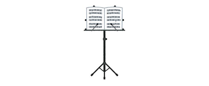 トランペットの音色に自信がない、、、譜面台の驚きの使い方で悩みを解決!?